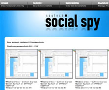 Social Spy Screenshot